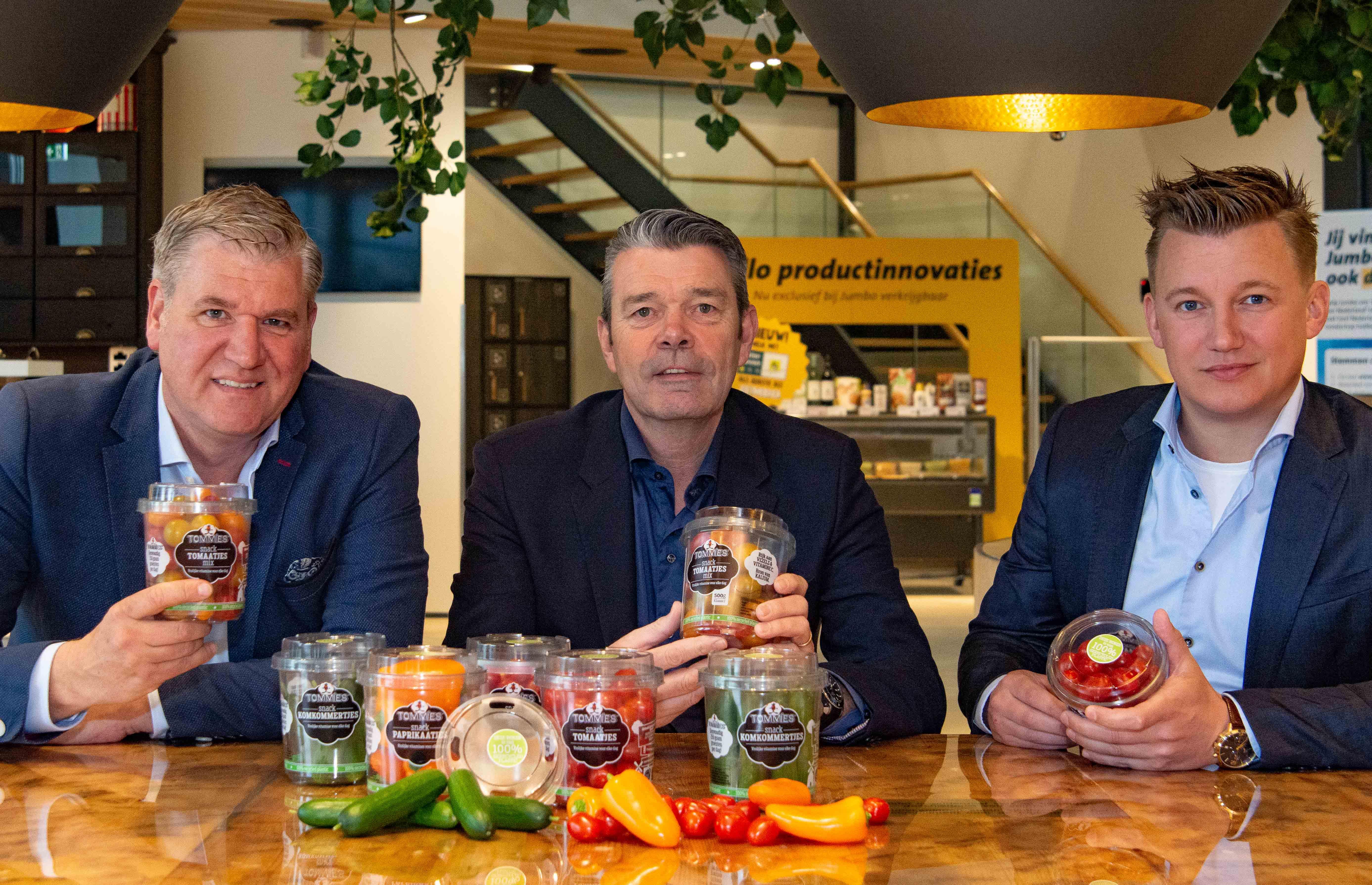 Tommies snackgroenten bij Jumbo voortaan in 100% recyclebare verpakking