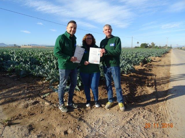 The Greenery voert PlanetProof in bij haar Spaanse leveranciers