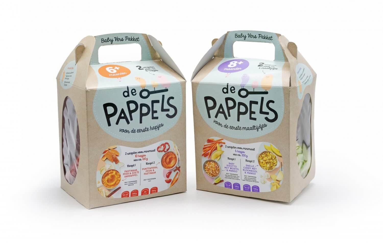 De Pappels - verspakketten for babies