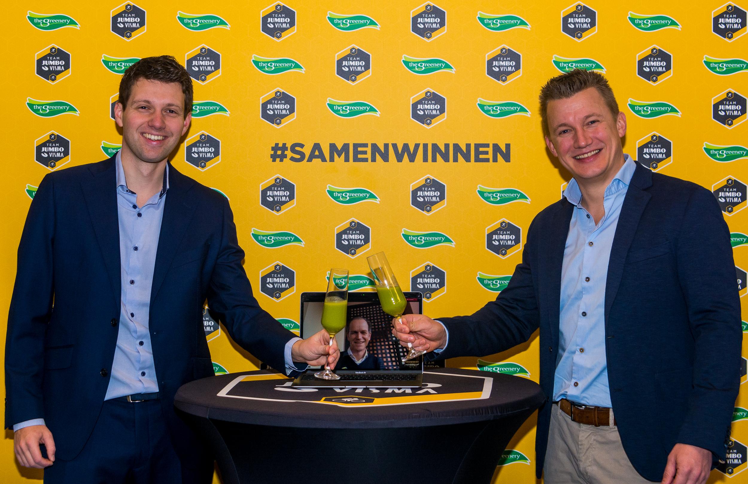 Team Jumbo-Visma en The Greenery sluiten overeenkomst